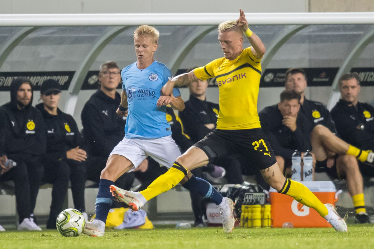 SOCCER: JUL 20 International Champions Cup - Manchester City FC v Borussia Dortmund