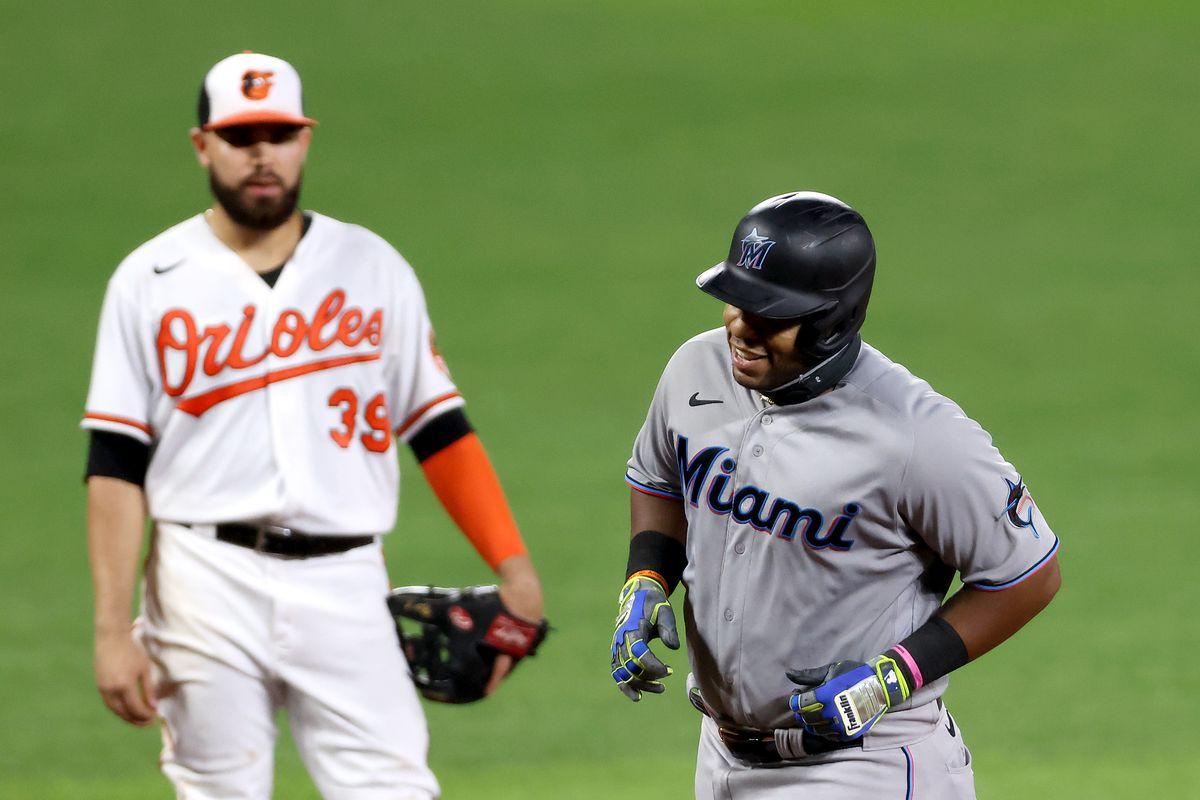 Miami Marlins v Baltimore Orioles