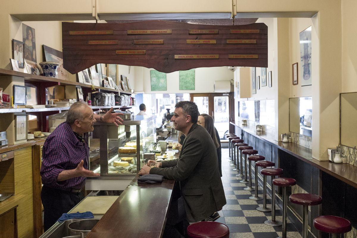 Pellegrini's Cafe in Melbourne