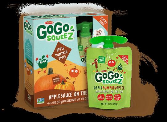 Gogo Squeez Apple Pumpkin Spice