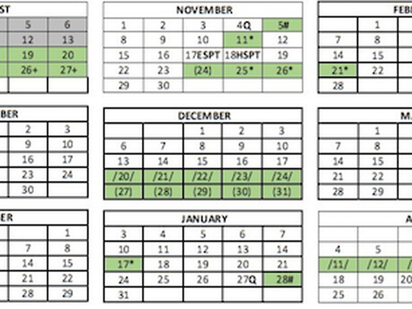 Cps Calendar 2022 23.Cps Calendar 2021 22 Here S The Full Schedule For Chicago Public Schools Chicago Sun Times