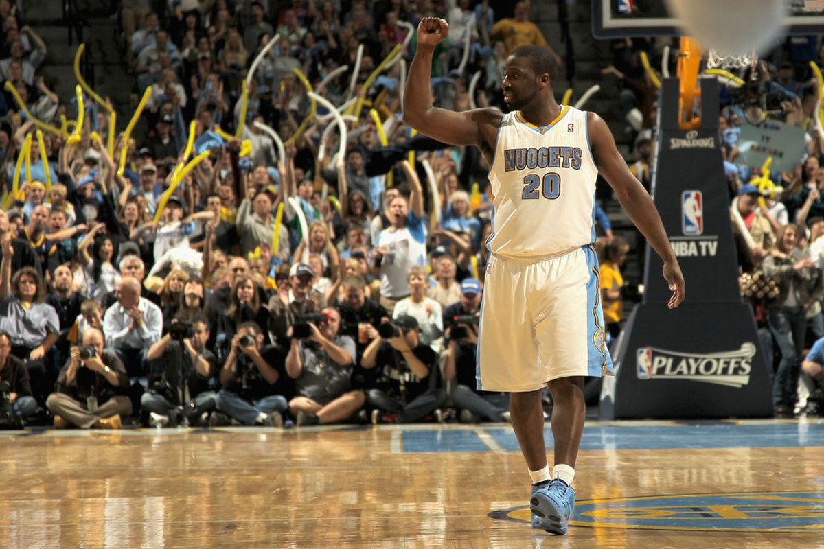Raymond Felton helped usher in the fast-paced Nuggets, what will his role be next season? Where will he be?
