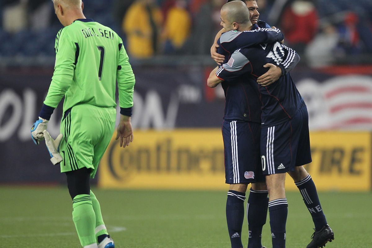Dejection - a feeling know be <strong>Sporting KC</strong> fans and goalkeeper <strong>Jimmy Nielsen</strong> alike, following Saturday's 3-2 loss to <strong>New England Revolution</strong>.