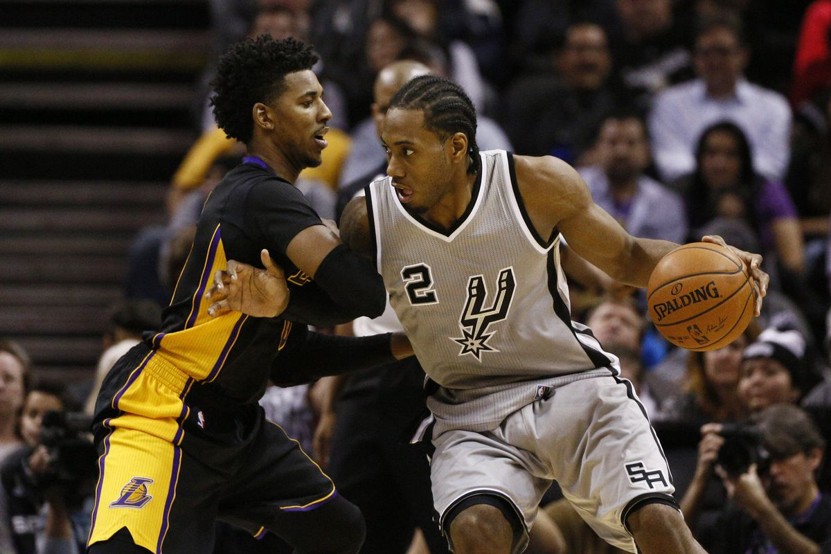 bfe8799af21 Spurs dispatch Kobe-less Lakers - Pounding The Rock