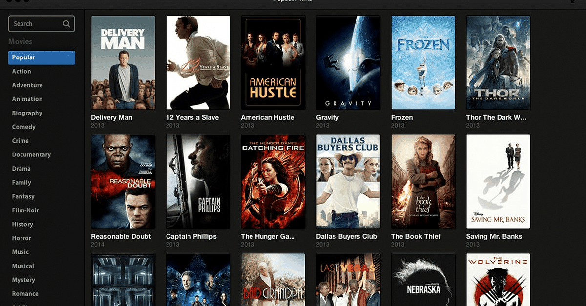 Popcorn Time, the once-popular Netflix for piracy, is back