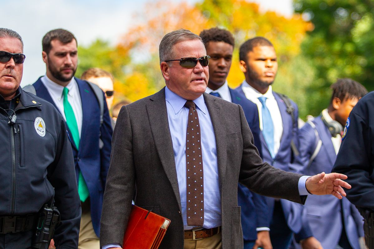 Image result for brian kelly notre dame