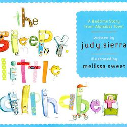 """This book cover released by Alfred A. Knopf shows the cover of """"The Sleepy Little Alphabet,"""" written by Judy Sierra and illustrated by Melissa Sweet."""