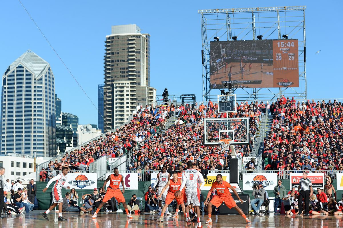 Battle On The Midway - Syracuse v San Diego State