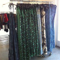 Long dresses, $125