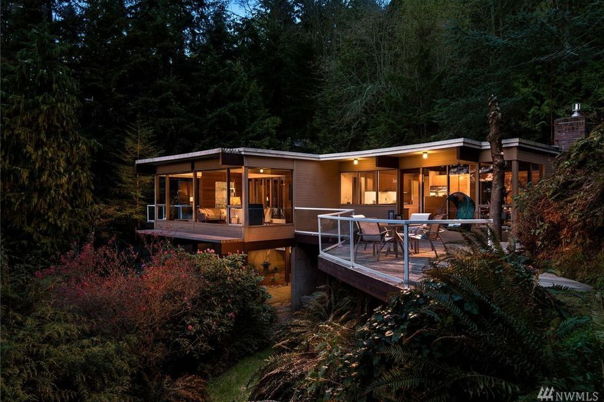 A Midcentury Modern Time Capsule On Mercer Island S