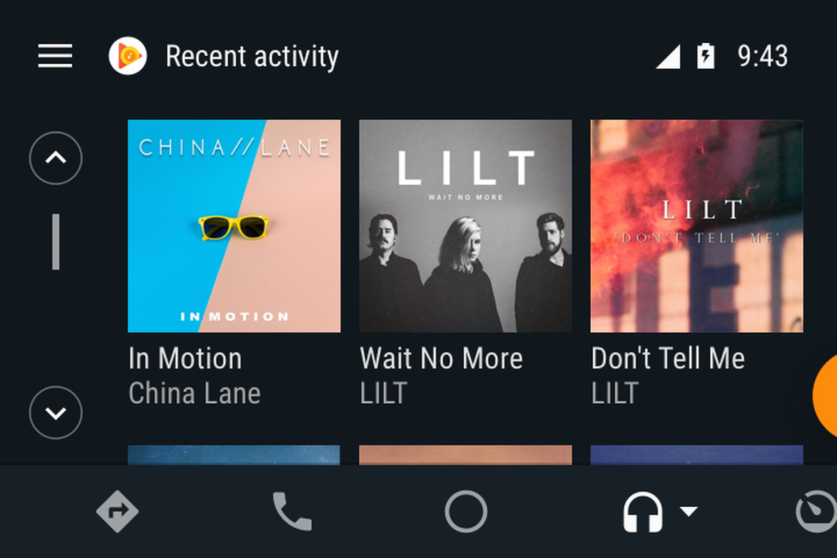 Image result for android auto new features google play music