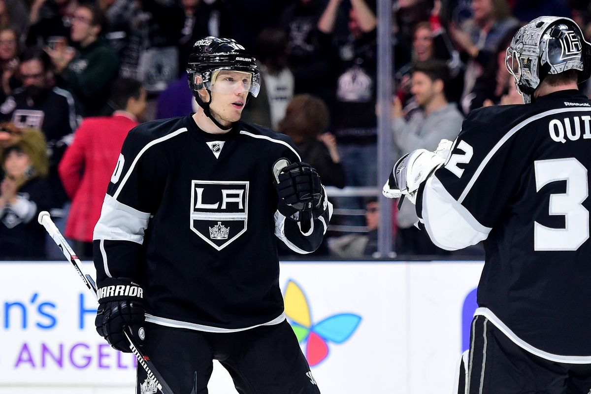 SHOWN: Ehrhoff finding out he doesn't have to leave Southern California