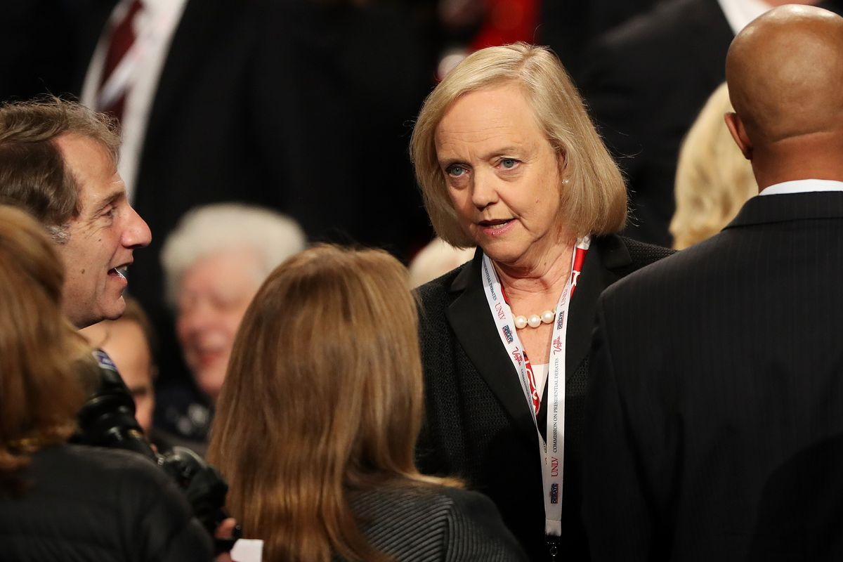 Meg Whitman is in the driver's seat at Uber