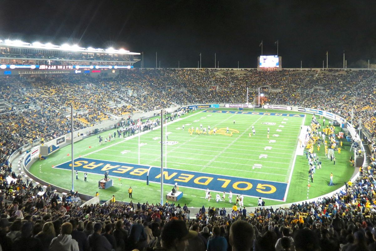 The Beavers will visit the Golden Bears at night again this year.