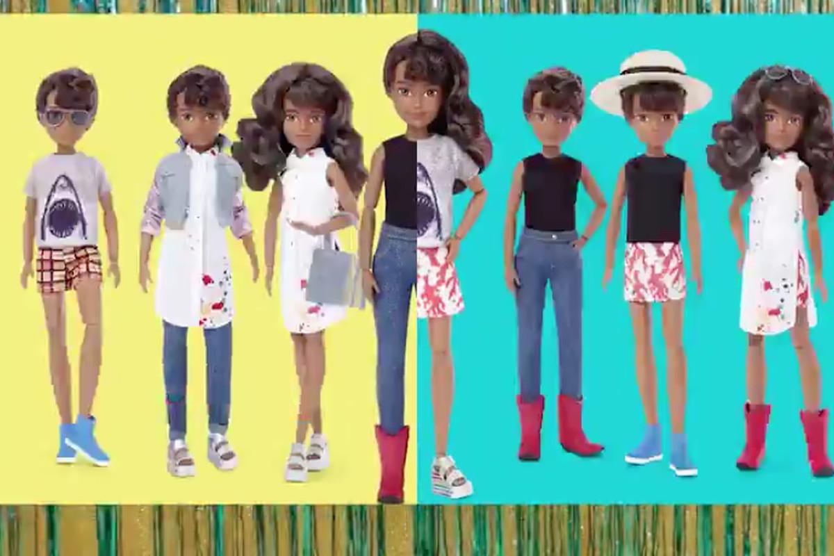 Mattel has introduced a line of gender-neutral dolls.