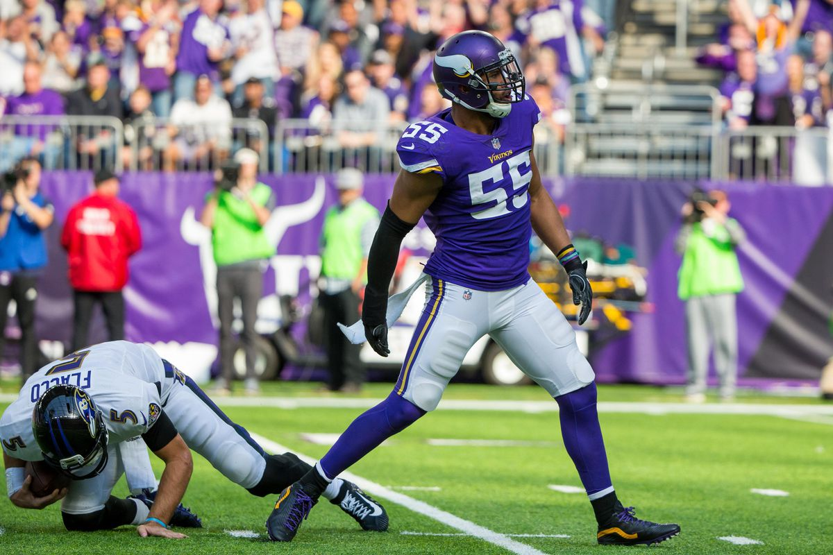 Anthony Barr responds to Aaron Rodgers Conan O Brien visit with