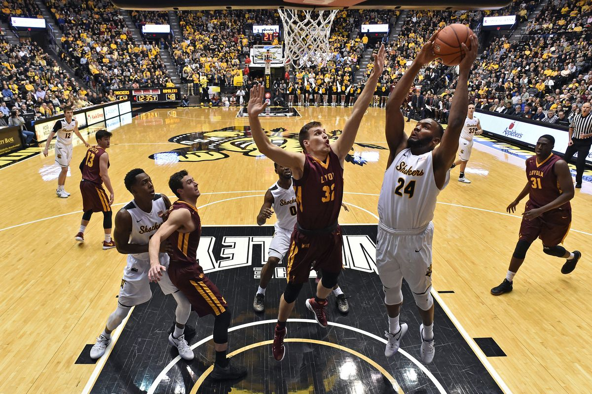 NCAA Basketball: Loyola-Chicago at Wichita State