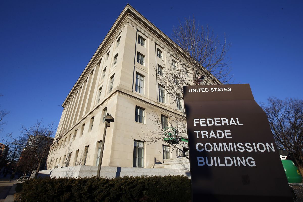 The Federal Trade Commission building in Washington. The FTC has been trying to get refund for apartment-hunters who say they were duped into unwanted recurring charges for credit monitoring.