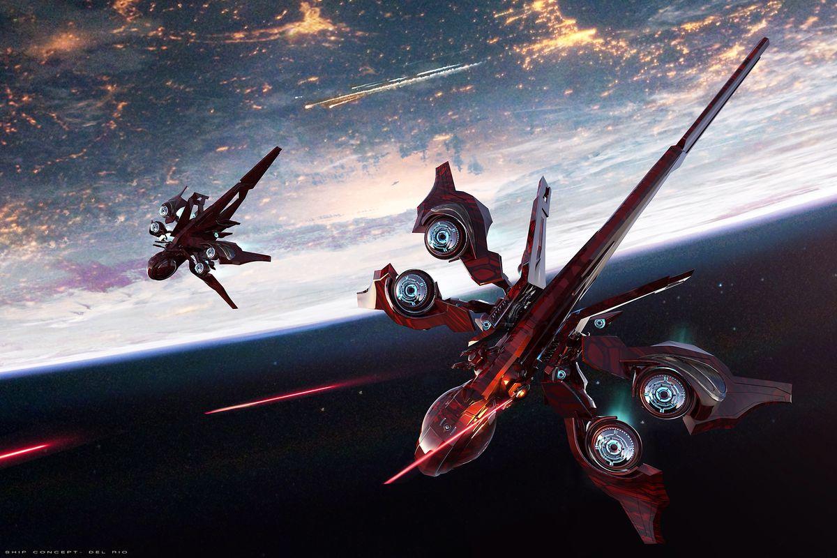 Star Citizen - kartu spaceships