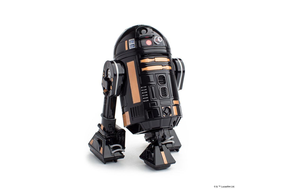 Sphero's R2-Q5 looks like the bad boy version of R2-D2 ...