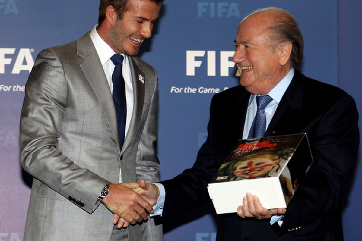 Sepp Blatter, nuff said.