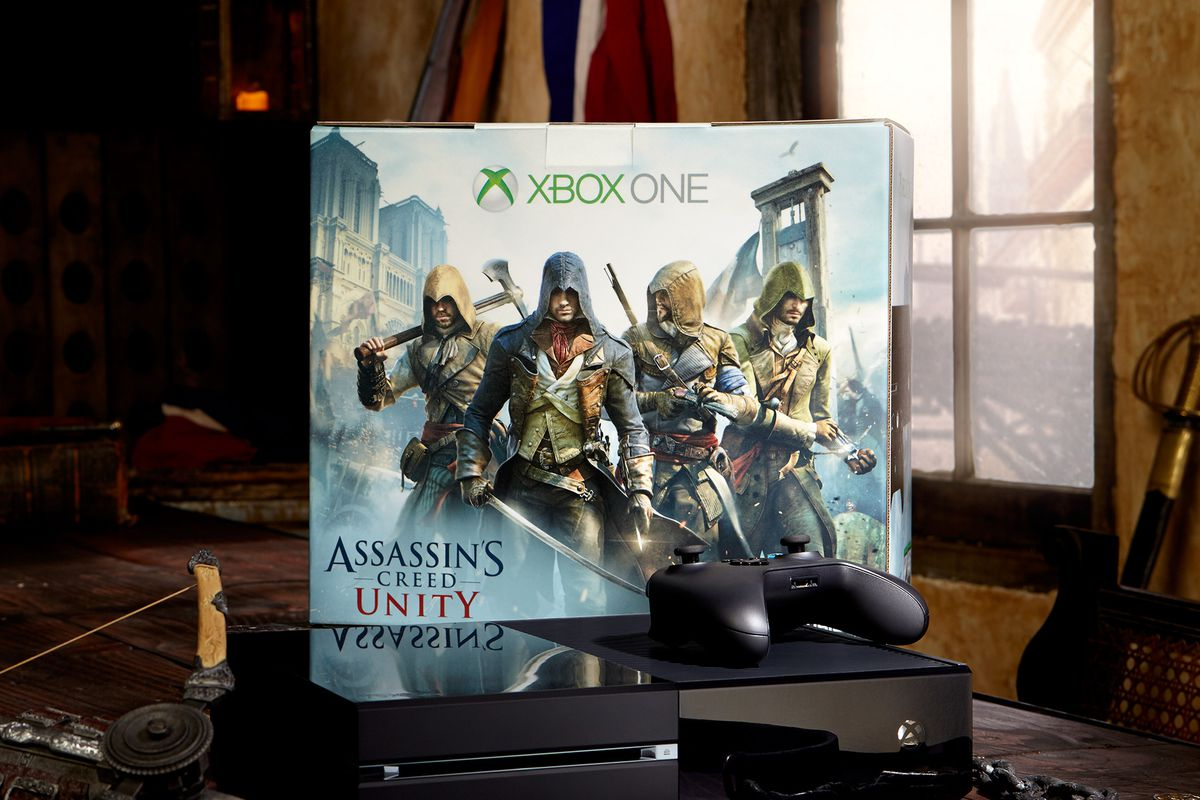 Grab Xbox One Unity bundle with Destiny and $50 gift card