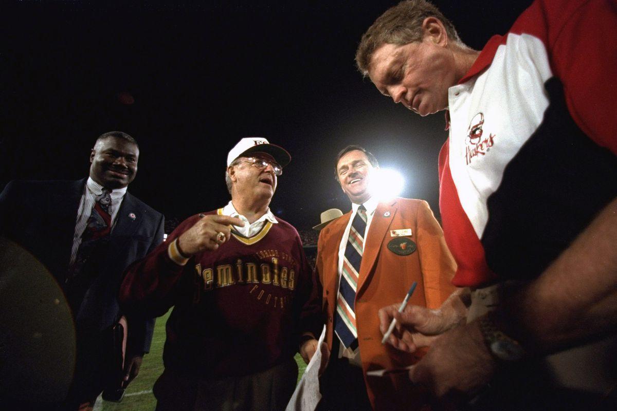 Florida State University vs University of Nebraska, 1994 Orange Bowl