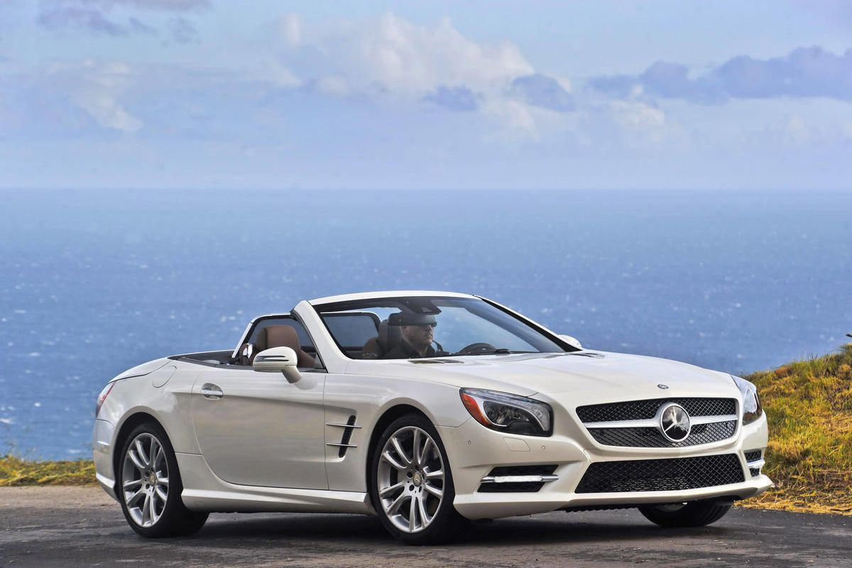 This undated picture provided by Mercedes-Benz shows the 2013 Mercedes-Benz SL550.