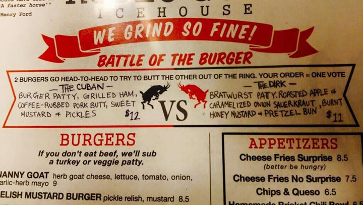 Rodeo Goat Burger Battle