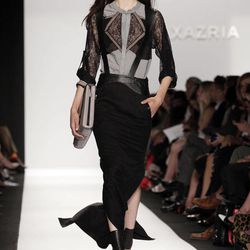 The BCBG MAX AZRIA Spring 2013 collection is modeled during Fashion Week in New York,  Thursday, Sept. 6, 2012.