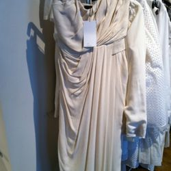 This production sample is $375 and could totally be a wedding gown.
