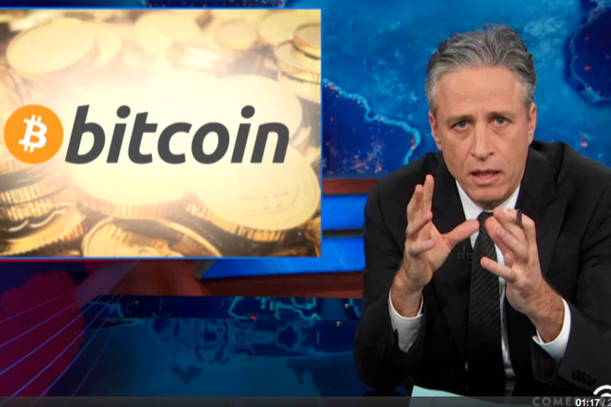 Bitcoin and Bankrupt Mt. Gox Get the Jon Stewart Treatment