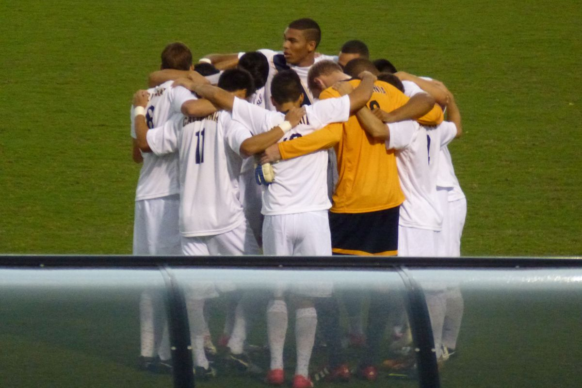 Photo from the Cal-Maryland match last year. This year turned out a whole lot better.