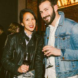 Writer Fawnia Soo Hoo and Frank Gargione