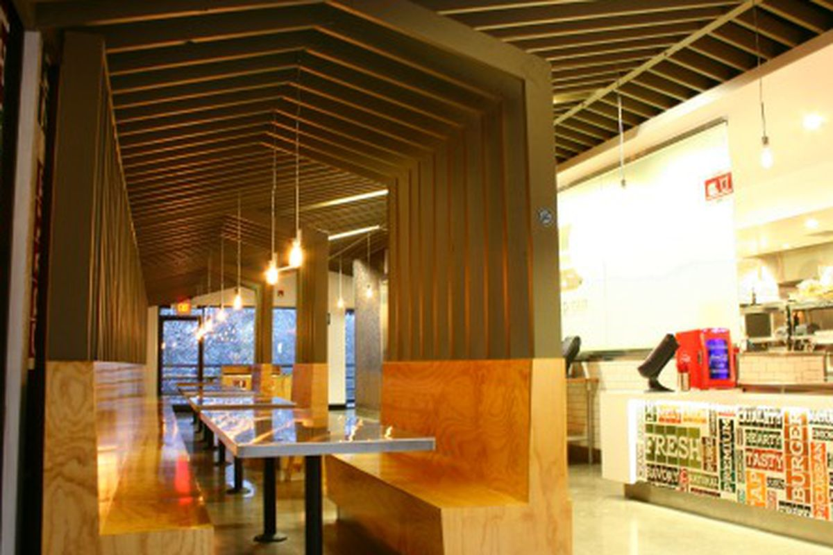 """Inside <strong><a href=""""www.burgertap.com"""">Burger Tap</a>.</strong> Photo courtesy of Burger Tap"""