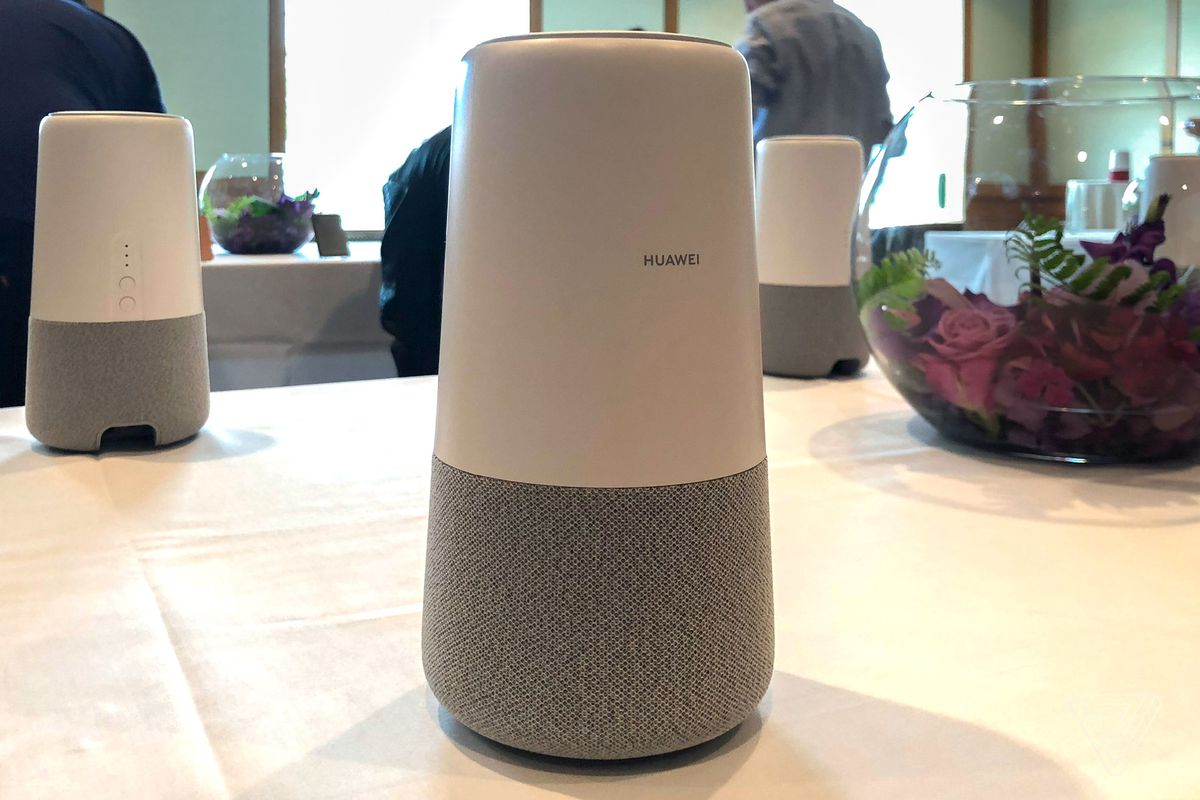 Huawei's AI Cube is a 4G router and Alexa speaker, not a