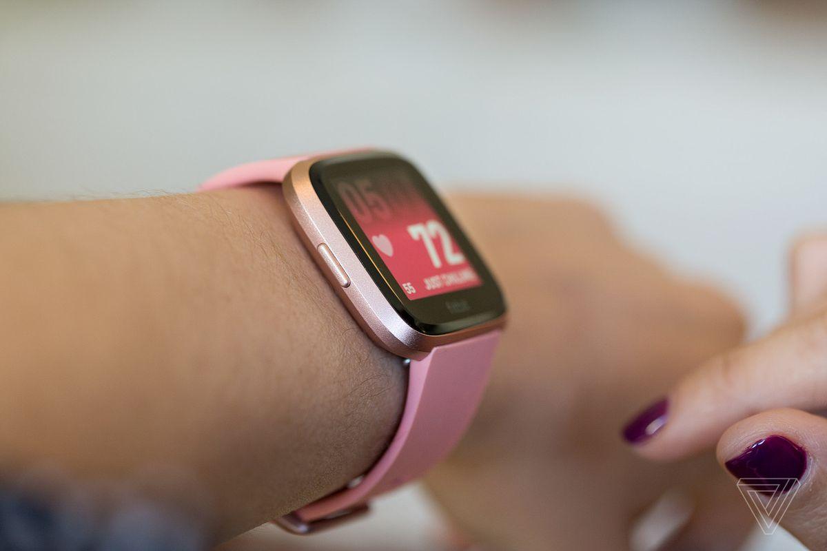 fitbit special edition versa smartwatch