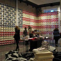 Inside Soho's newest shoe-ateria.