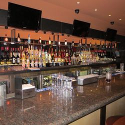 Another view of the bar at the new Public House at the Luxor.