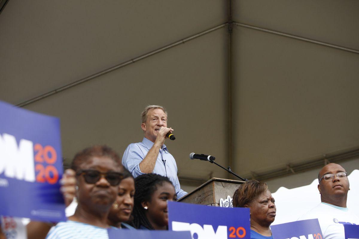 Democratic Presidential Candidates Attend Blue Jamboree In South Carolina