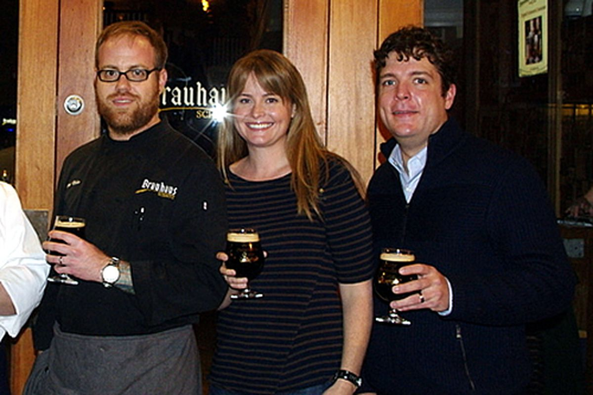 Jeremy Nolen, Kelly Schmitz, and Doug Hager.