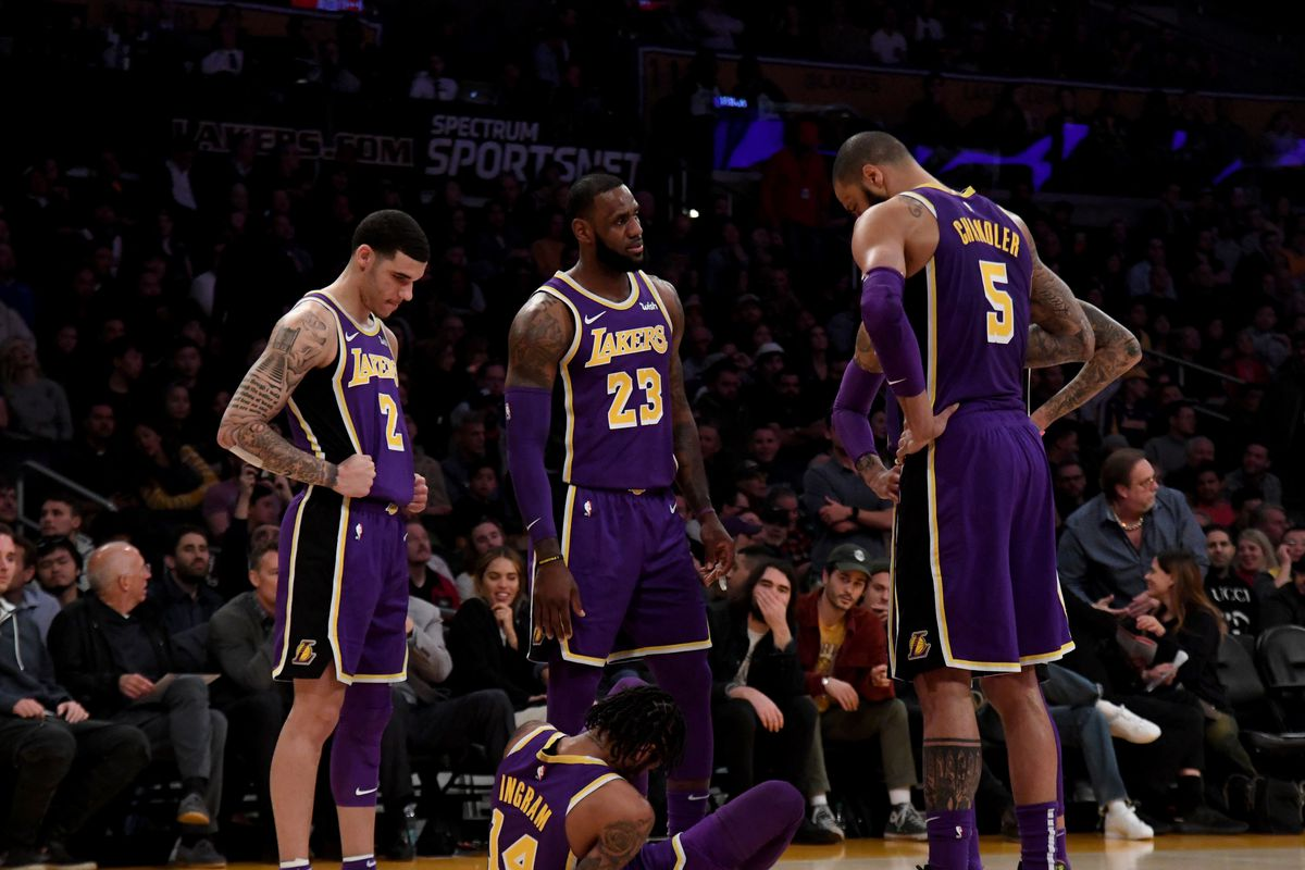 c1b06573d4d8 Luke Walton says the Lakers will stagger Lonzo Ball