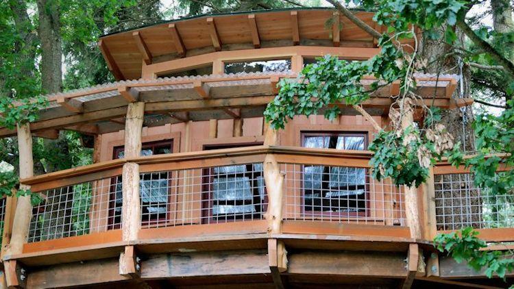 Inspirational Washington State Treehouse Rental