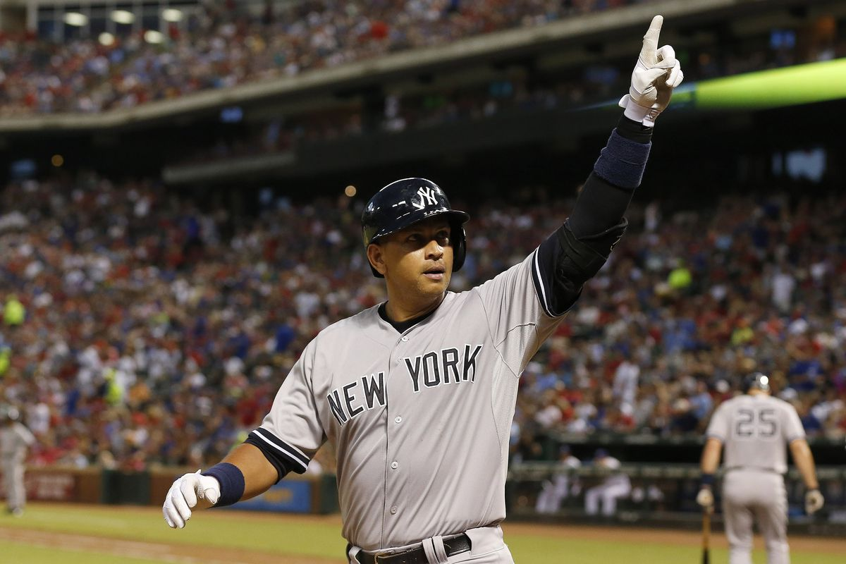And then A-Rod started dancing to Stayin' Alive