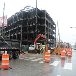 11:44 a.m. Northbound Clark Street reduced to one way, due to utility work at Waveland and Clark -