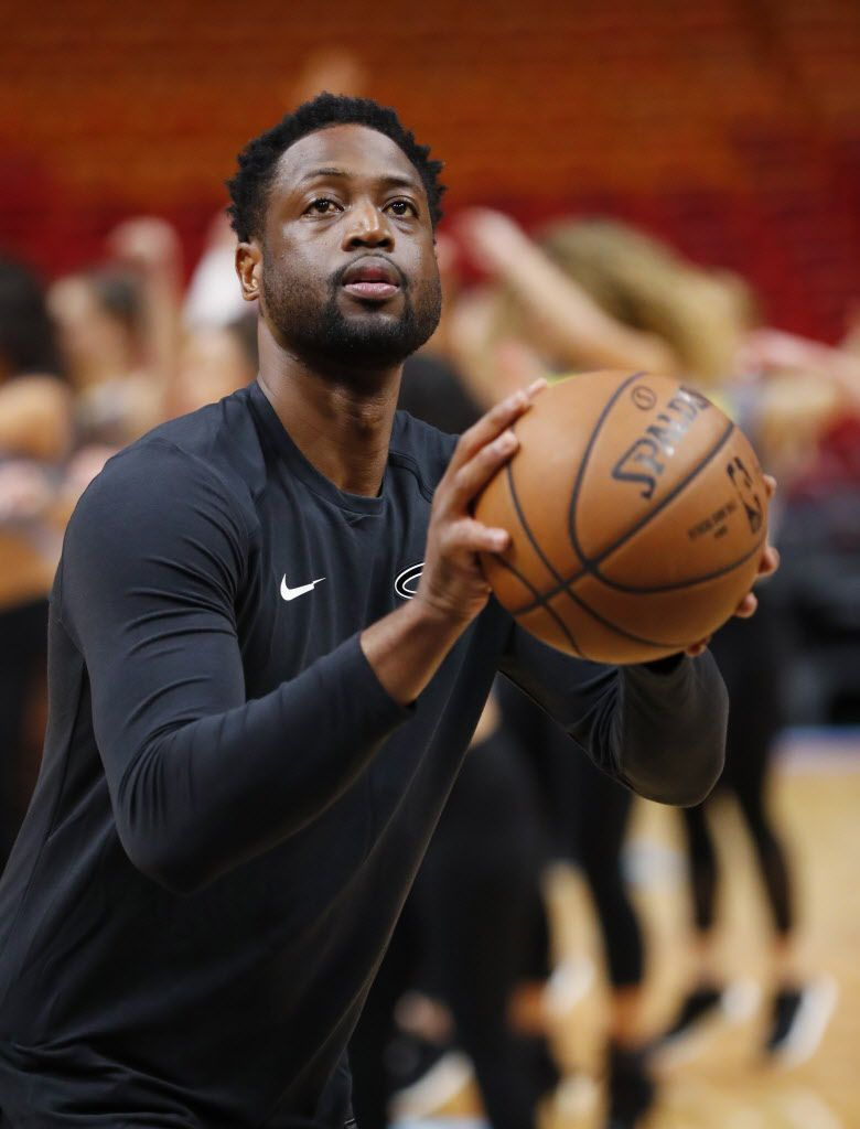 Dwyane Wade, who now plays for the Miami Heat   AP