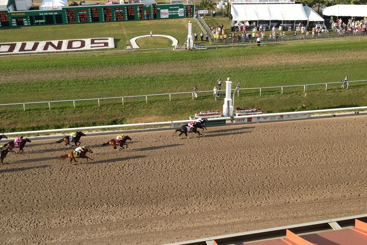 Revolutionary wins at the Fair Grounds.