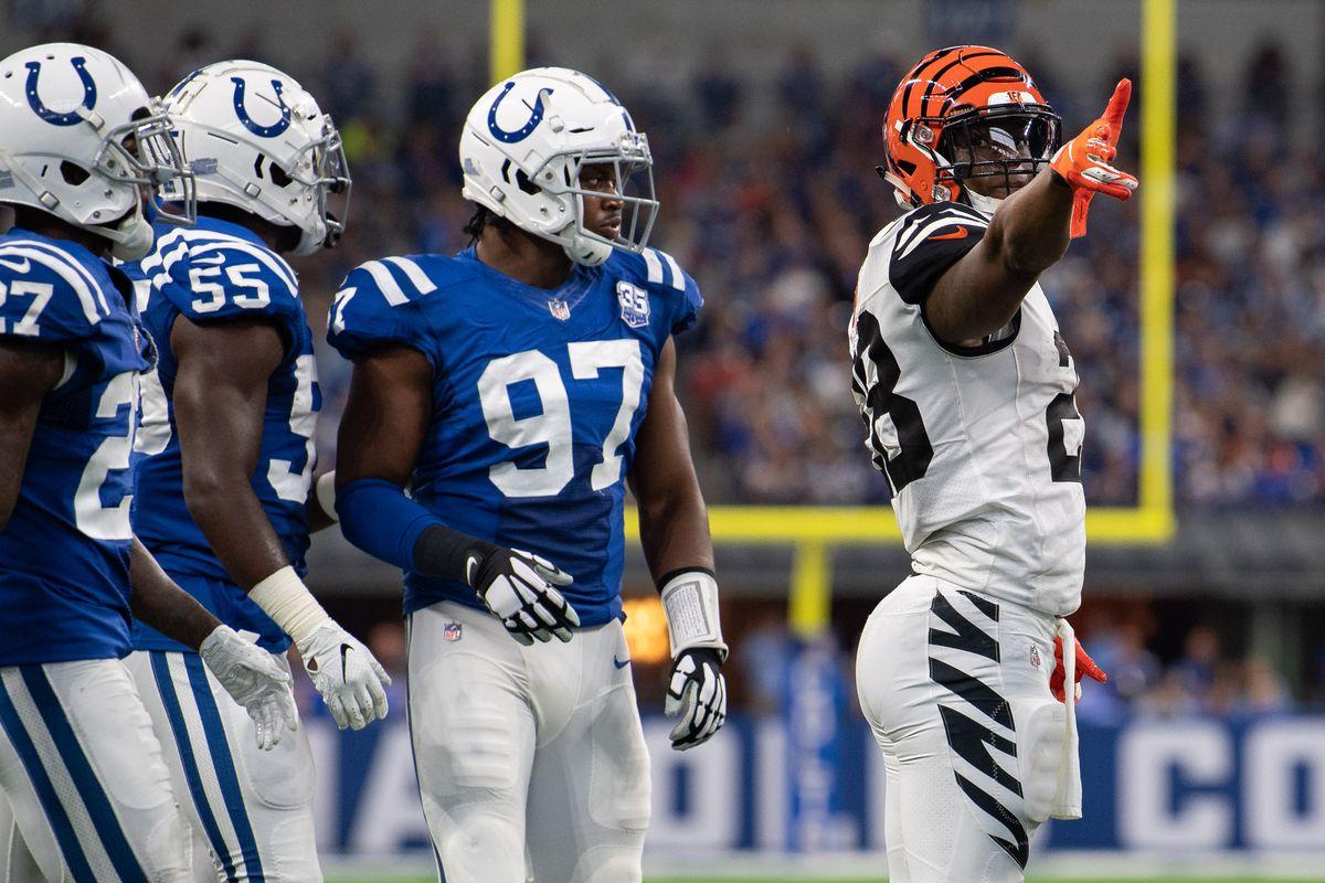 Preseason Week 4 Cincinnati Bengals 1 2 Vs Indianapolis