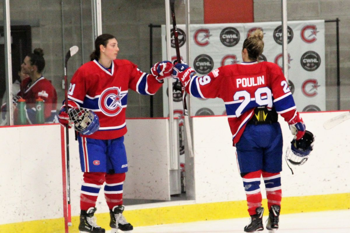 We have the dream team here   Hilary Knight discusses Les Canadiennes and  new teammate Marie-Philip Poulin fc4c00dc524