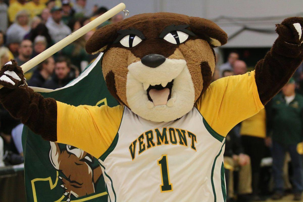 Vermont Catamounts mascot